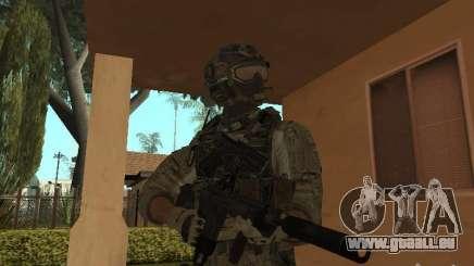 M4A1 mit ACOG von CoD MW3 für GTA San Andreas
