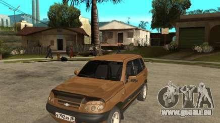CHEVROLET NIVA Version 2.0 pour GTA San Andreas