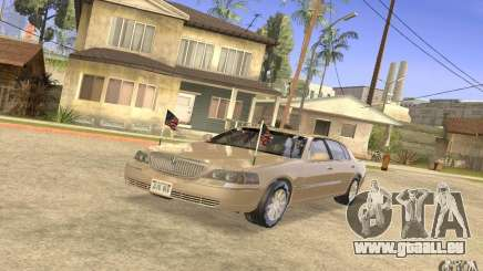 Lincoln Towncar Secret Service für GTA San Andreas