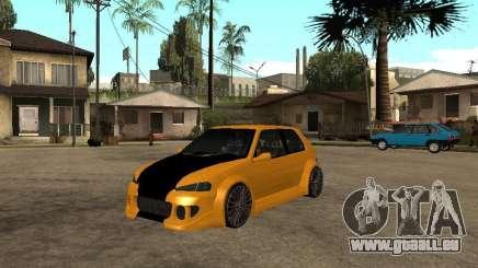 Peugeot 106 Tuning für GTA San Andreas
