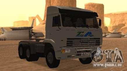 KAMAZ 6460 für GTA San Andreas