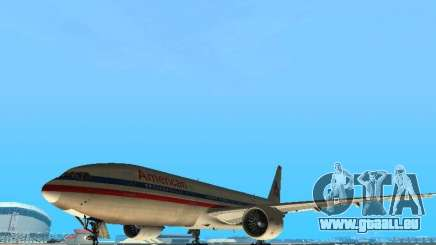 Boeing 777-200 American Airlines pour GTA San Andreas