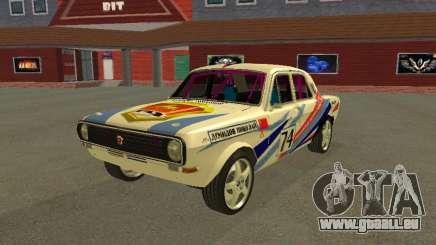 Volga GAZ 24-10 Rally für GTA San Andreas
