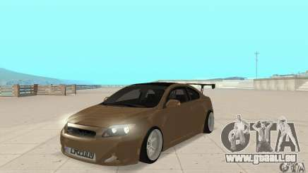 Toyota Scion tC Edited für GTA San Andreas