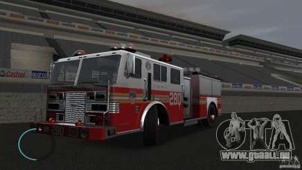 NEW Fire Truck für GTA 4