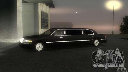 Lincoln Towncar limo 2003 für GTA San Andreas
