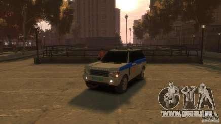 Land Rover Range Rover Police für GTA 4