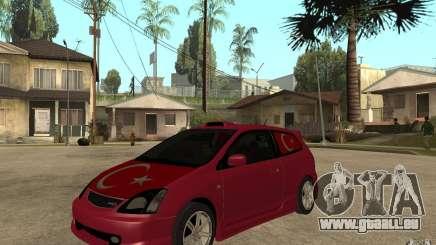 Honda Civic Type R Burgund für GTA San Andreas