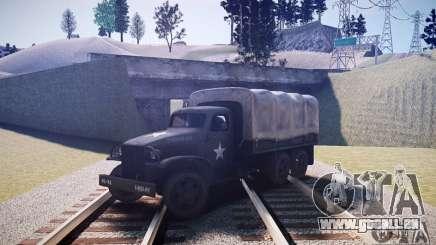 Camion militaire de Mafia II pour GTA 4