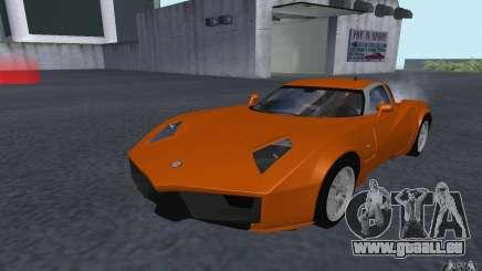 Spada Codatronca TS Concept 2008 für GTA San Andreas