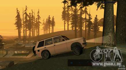 HD Huntley pour GTA San Andreas