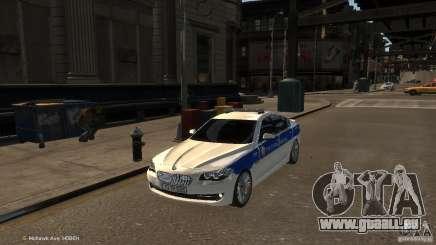 BMW 550i Azeri Police YPX pour GTA 4