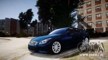 Infiniti G37 Coupe Sport für GTA 4