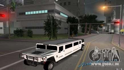 HUMMER H1 limousine pour GTA Vice City