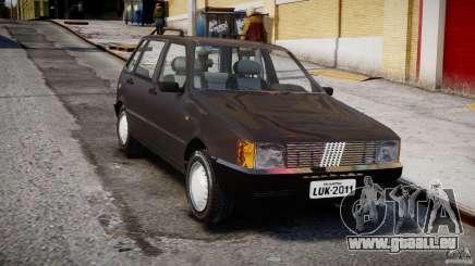 Fiat Uno 70SX 1989-1993 pour GTA 4