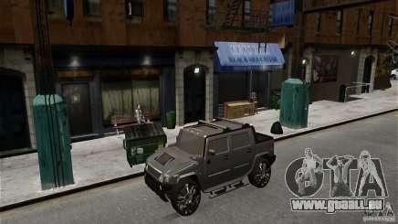 Hummer H2 SUT pour GTA 4
