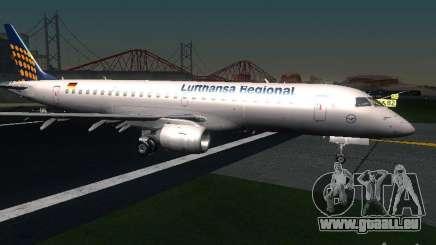 Embraer ERJ 190 Lufthansa Regional pour GTA San Andreas