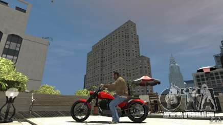 The Lost and Damned Bikes Nightblade pour GTA 4