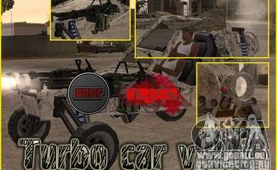 Turbo car v.2.0 pour GTA San Andreas