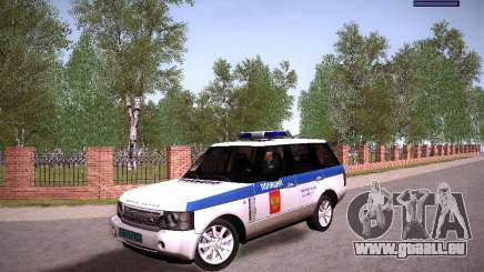 Range Rover Supercharged 2008 Police DEPARTMENT für GTA San Andreas