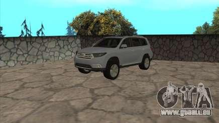 Toyota Highlander für GTA San Andreas