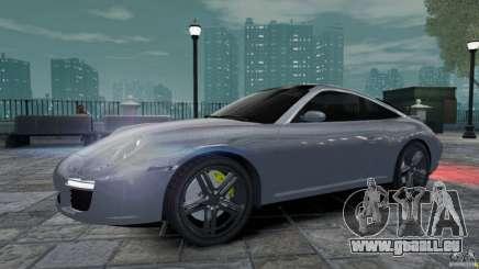 Porsche Targa 4S 2009 pour GTA 4