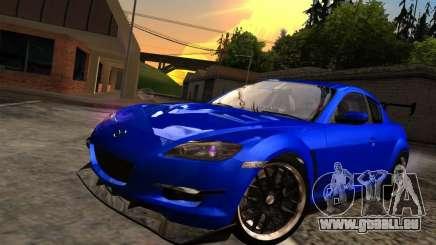 Mazda RX-8 Varis Custom pour GTA San Andreas