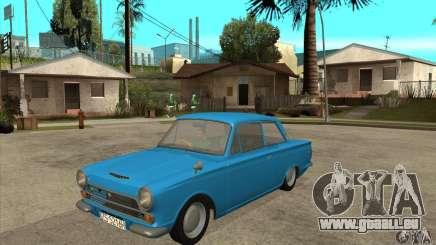 Lotus Cortina Mk1 1963 für GTA San Andreas