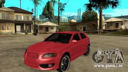 Audi S3 2006 Juiced 2 pour GTA San Andreas