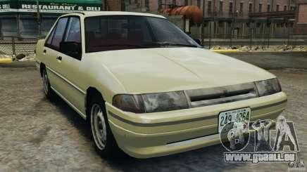 Mercury Tracer 1993 v1.1 pour GTA 4
