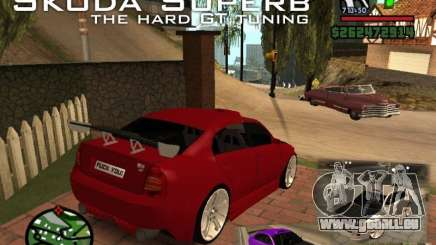 Skoda Superb HARD GT Tuning pour GTA San Andreas