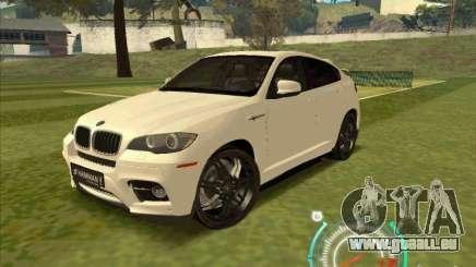 BMW X6 M Hamann Design pour GTA San Andreas