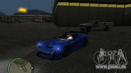 Lotus 2-Eleven 2009 für GTA San Andreas