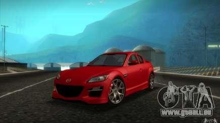 Mazda RX-8 R3 2011 pour GTA San Andreas