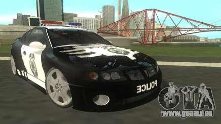 Pontiac GTO Police für GTA San Andreas