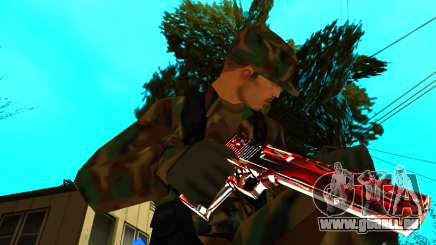 Trollface weapons pack für GTA San Andreas