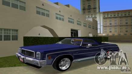 Chevrolet El Camino Idaho pour GTA Vice City