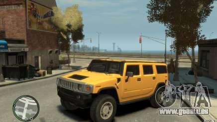 Hummer H2 pour GTA 4
