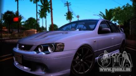 Ford Falcon FPV F6 TYPHOON XR8 2007 pour GTA San Andreas