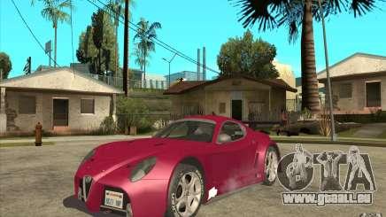 Alfa Romeo 8C GT3 RSX pour GTA San Andreas