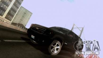 Chevrolet Tahoe 2009 Unmarked pour GTA San Andreas
