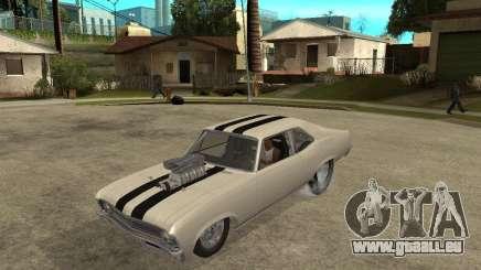 1969 Chevrolet Nova ProStreet Dragger pour GTA San Andreas