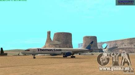 Boeing 757-200 Final Version pour GTA San Andreas