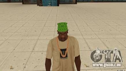 Bandana vert maryshuana pour GTA San Andreas