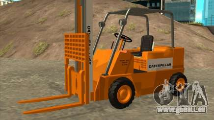 Caterpillar Torocat pour GTA San Andreas