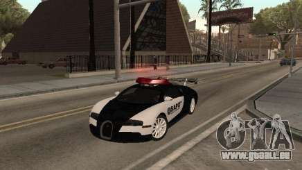 Bugatti Veyron Police pour GTA San Andreas