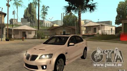 Pontiac G8 GXP 2009 pour GTA San Andreas