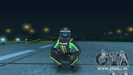Falken Monster Energy PED pour GTA San Andreas