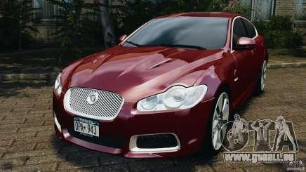 Jaguar XFR 2010 v2.0 für GTA 4