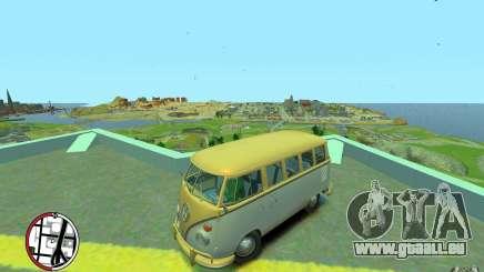 Volkswagen T1 Bus 1967 pour GTA 4